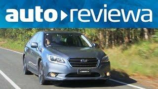 2015, 2016 Subaru Liberty Video Review - Australia