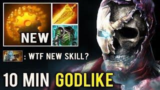 NEW SKILL MID IRON MAN IS BACK! 10 Min Godlike 7.23 Scepter Crazy Battle vs Lancer New Imba Dota 2