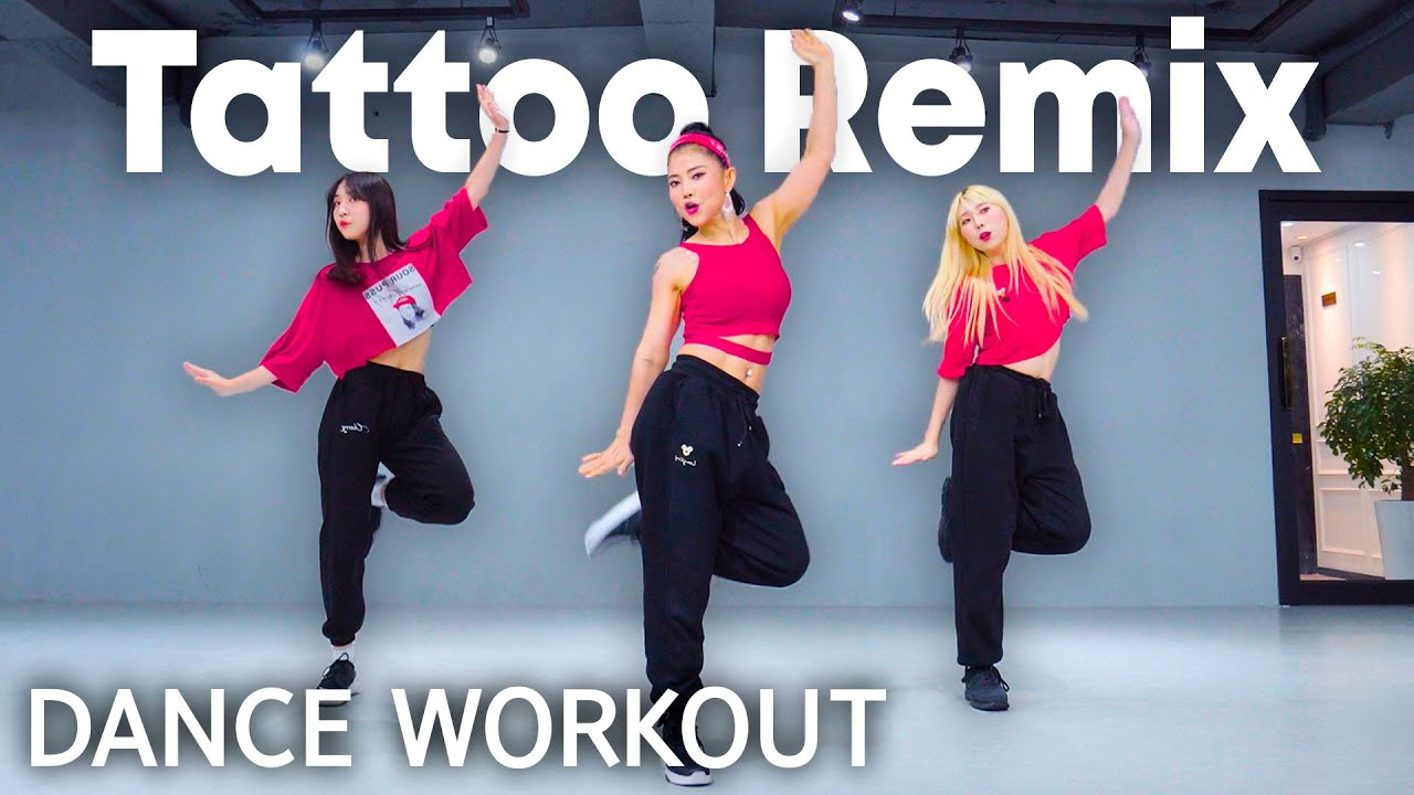 [Dance Workout] Tattoo Remix - Rauw Alejandro & Camilo | MYLEE Cardio Dance Workout, Dance Fitness
