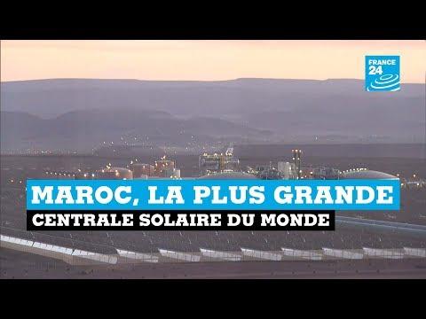 Maroc, la plus grande centrale solaire du monde