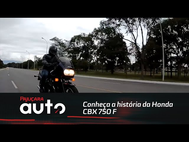 Conheça a história da Honda CBX 750 F