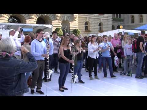 Kultur Casino Bern Flashmob Bundesplatz