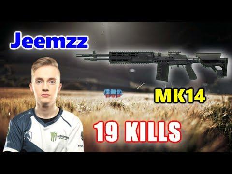 Team Liquid Jeemzz - 19 KILLS - MK14 - SOLO - PUBG