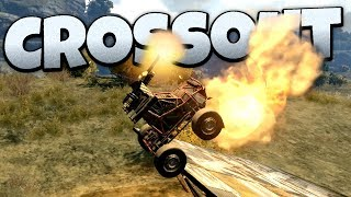 Crossout - The Derpiest Backflipper! -  Crossout Open Beta Gameplay