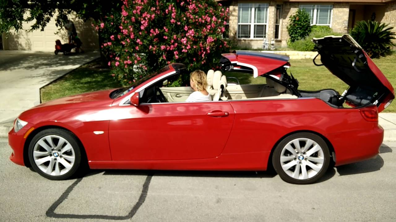 BMW I Hardtop Convertible YouTube - 2012 bmw 328i convertible