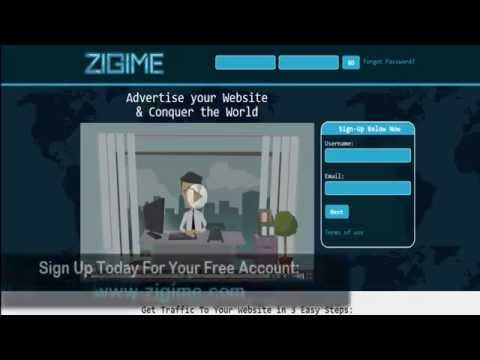 Zigime Overview - Free Online Banner Advertising