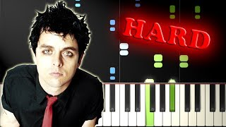 GREEN DAY - BASKET CASE - Piano Tutorial