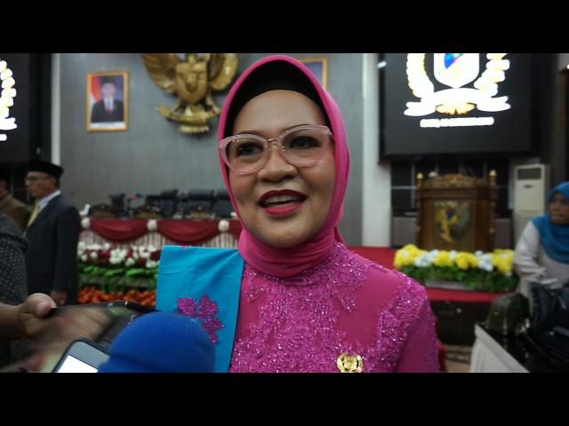 Pimpinan DPRD Sulteng Periode 2019-2024 Dilantik, Nilam Sari: Percepat Pengungsi Ke Huntap