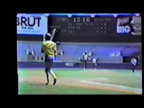 John Jay Yankee Stadium 1983 City Champs Moore vs Jay