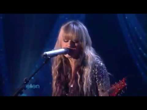 Orianthi Performs According to You  on Ellen Degeneres Show 20100121 HDHQmp4