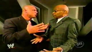 Teddy Long Talks To Kurt Angle (SD! 7/29/04)