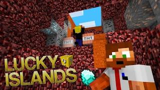 HAN KASTAR TNT PÅ SIG SJÄLV! | Lucky Islands på Cubecraft