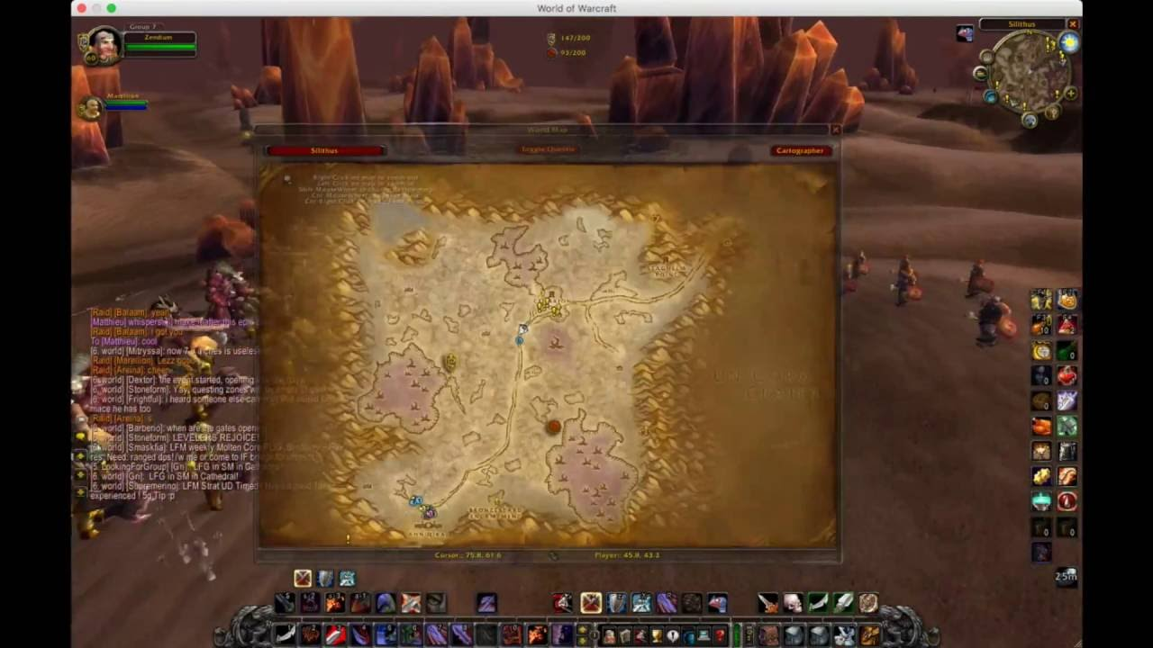 World Of Warcraft Fused Wiring Electrical Diagrams Recipe Vendor Vanilla Wow Taking The Aq Gong From Horde And Getting Professor Layton