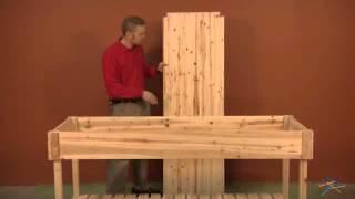 Assembly Video Simply Grow Cedar Garden Center With Tray