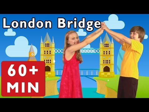 London Bridge Is Falling Down and More | Nursery Rhymes from Mother Goose Club!
