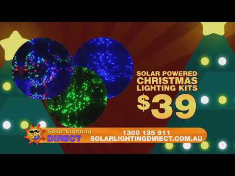 solar lighting direct keep all your surprises under the tree this christmas