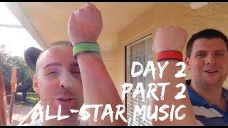 Walt Disney World Holiday - Christmas 2016 - Day 2 - Part 2 - Villa tour & Disney's All-Star Music