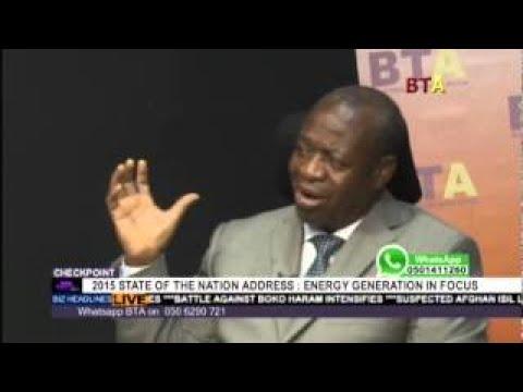 State Of The Nation Address Concerning Energy With Dr Seth Adjei baah, Joseph Kofi Adda An