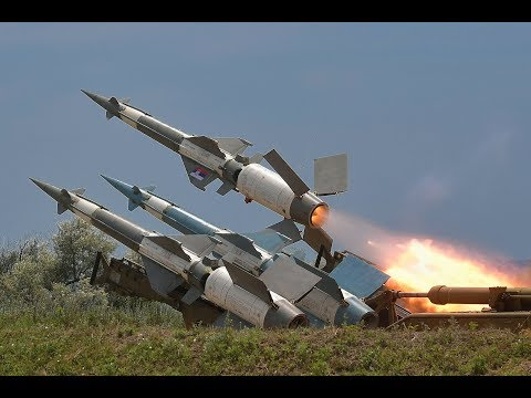 Rare close-up access: Air defence rocket launch exercise