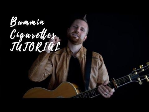 BUMMIN CIGARETTE'S Basic Guitar Tutorial Maren Morris