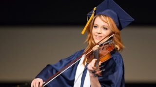Lindsey Stirling, College Graduate 2015