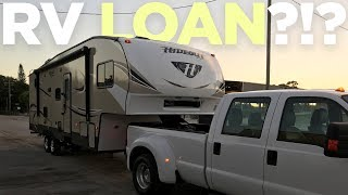 Gasp!  We FINANCED Our First RV - Here's Why.