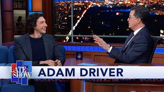 "Adam Driver Took Kylo Ren's Lightsaber Home From The ""Star Wars"" Set"