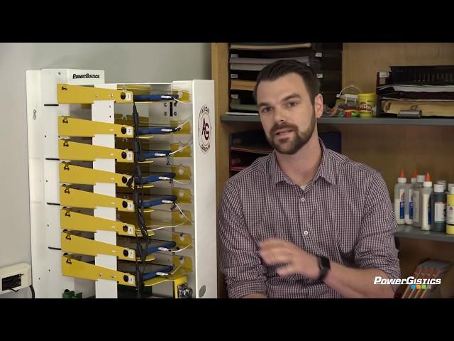 PowerGistics Towers Create Versatility in Avon Grove's Makerspace