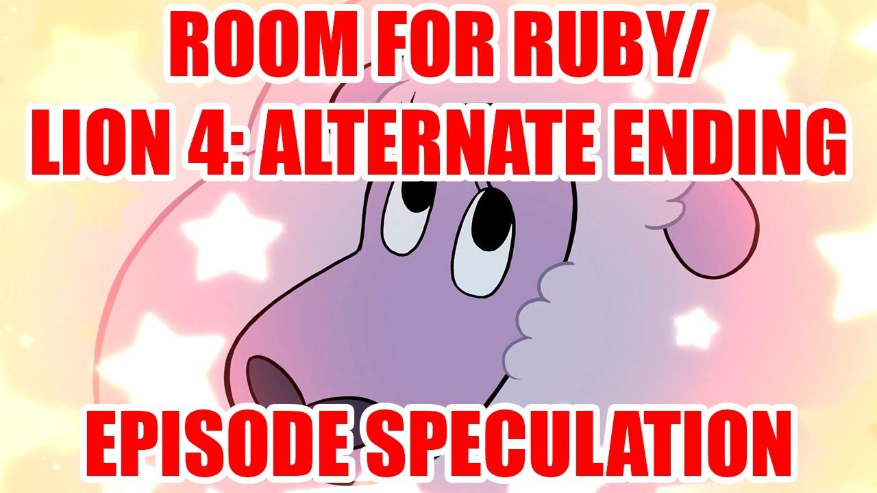 Steven Universe Room For Ruby Amp Lion 4 Alternate Ending