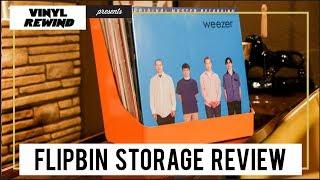 Flipbin vinyl storage and display - product review