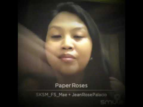 Paper Roses (cover by Jean Rose Palacio)