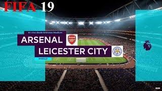 FIFA 19 - Premier League - Arsenal vs. Leicester City @ Emirates Stadium