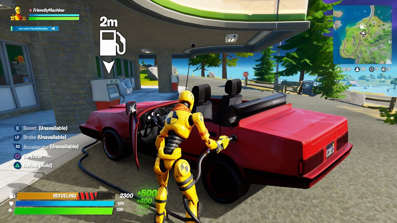 Cars Are Back In Fortnite How To Drive Youtube