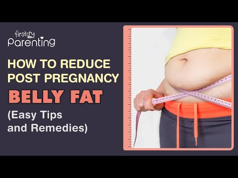 How to Reduce Post Pregnancy Belly Fat (Easy Tips & Exercises)