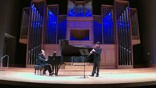 Honegger  - Sonatine for Clarinet and Piano