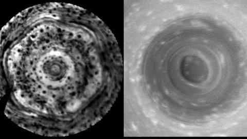Saturn South Pole Cyclone on Saturn - Yo...