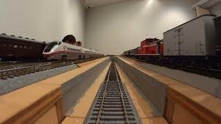 あきた大鉄道展 HE-30系 16番ゲージ鉄道模型公開運転 in 秋田県立美術館 (2)