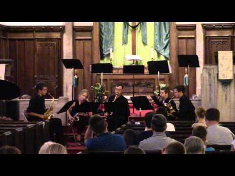 MFSOM Saxophone Quartet: Fugue D Minor