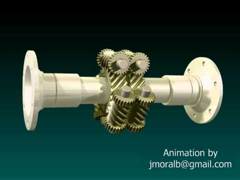 Diferencial Torsen (Autoblocante) / Self-locking Torsen Differential
