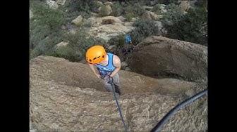 Weekend Climbing on the Yakov Wall Queen Creek Arizona