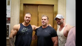 Arm Pump With Jay Cutler and Jason Poston | ARNOLD CLASSIC VLOG 1