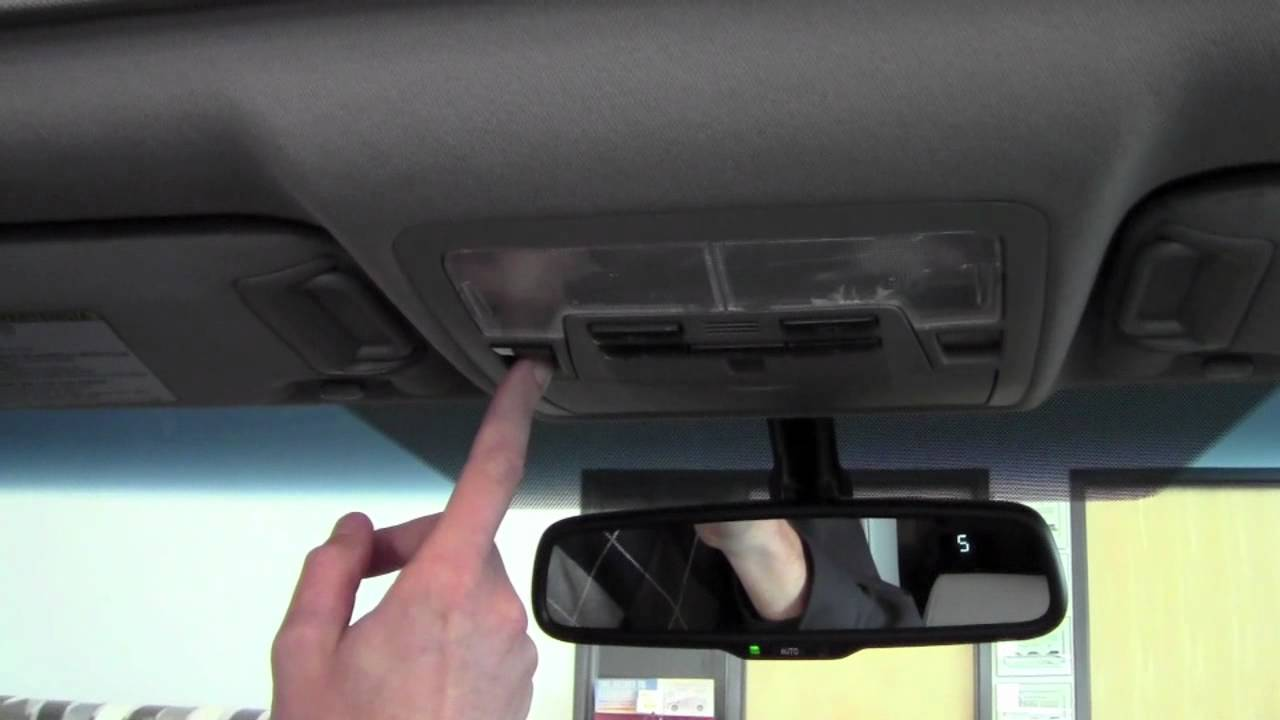 2012 Toyota Camry Power Tilt Slide Moonroof How To