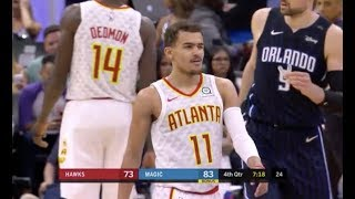 Trae Young Sinks Free Throw And Winks At Michael Carter-Williams After Chirping Match