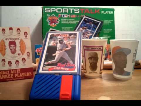 Baseball Talk #112 Jim Rice