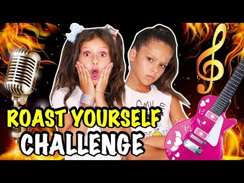 🔥 ROAST YOURSELF CHALLENGE 🔥KARINA Y MARINA feat Jose Seron 🎤 CANCIÓN ESPECIAL 200K SUSCRIPTORES