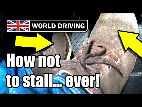 Top tips - NEVER stall a manual / stick shift car again - Clutch control tips