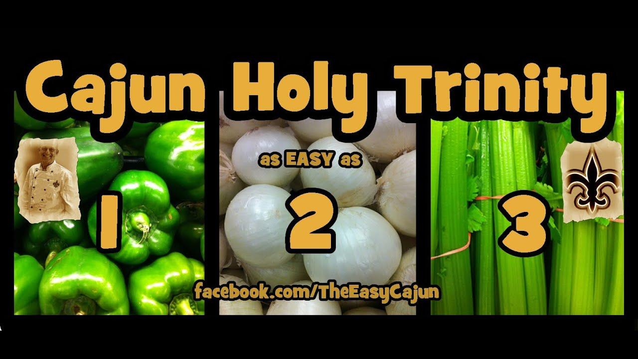 Cajun cooking trinity