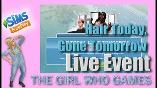 The Sims Freeplay- Hair Today, Gone Tomorrow Live Event