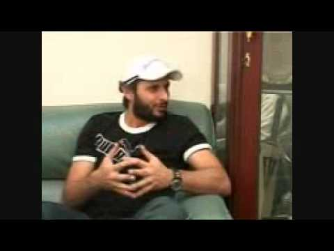 An Interview With Shahid Afridi(Captain Of Pakistan Cricket Team) On Tabligh