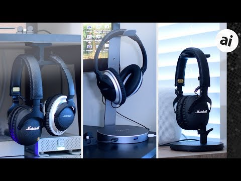Roundup: Headphone Stands/Mounts from Twelve South, ElevationLab, & Fermata